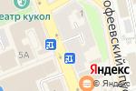 Схема проезда до компании Tervolina во Владимире