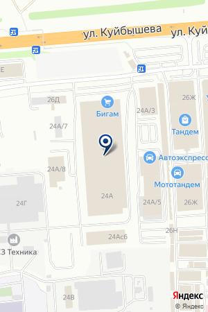 ДОПОЛНИТЕЛЬНЫЙ ОФИС ВЛАДПРОМБАНК на карте Владимира