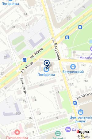 НАЦИОНАЛЬНЫЙ БАНК ТРАСТ на карте Владимира