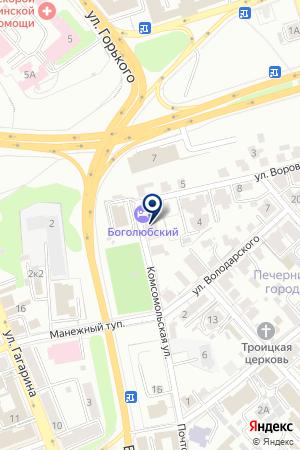 АЗС МИГ-ИНВЕСТ на карте Владимира