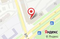 Схема проезда до компании Мегапринт-Дистрибьютор во Владимире
