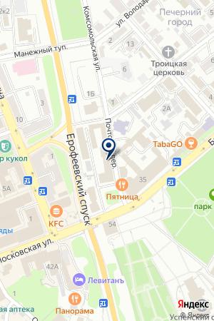 ГЛАВНОЕ УПРАВЛЕНИЕ ЦБ РФ ПО ВЛАДИМИРСКОЙ ОБЛАСТИ на карте Владимира