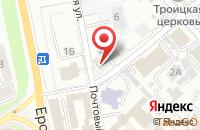 Схема проезда до компании Славяне во Владимире