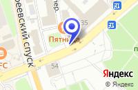 Схема проезда до компании ВЛАДИМИРСКАЯ ЗАСТАВА во Владимире