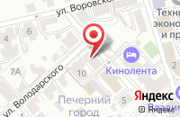 Схема проезда до компании Альфа-Медика во Владимире