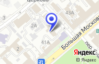 Схема проезда до компании СФЕРАКОМП во Владимире