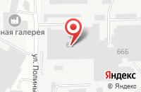 Схема проезда до компании Техкранэнерго во Владимире