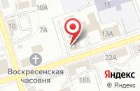 Схема проезда до компании Парус во Владимире