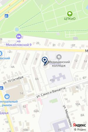 РАДИОВЕЩАТЕЛЬНАЯ КОМПАНИЯ РАДИО 7 ВЛАДИМИР на карте Владимира