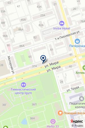 ВЛАДИМИРСКОЕ ЭКСПЕРТНО-КОНСУЛЬТАТИВНОЕ БЮРО на карте Владимира