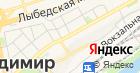 Продуктовый магазин на Большой Московской на карте