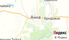 Отели города Анна на карте