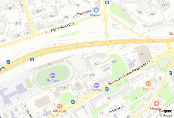жилой комплекс по ул. Большая Нижегородская, д. 33б