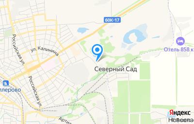 Местоположение на карте пункта техосмотра по адресу Ростовская обл, г Миллерово, пер Карьерный, зд 3