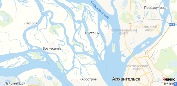 Кальчино на карте