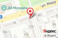 Схема проезда до компании Svetodiod33 во Владимире
