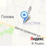 Храм преподобного Серафима Саровского на карте Архангельска