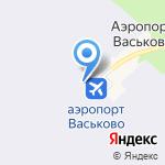 Васьково на карте Архангельска
