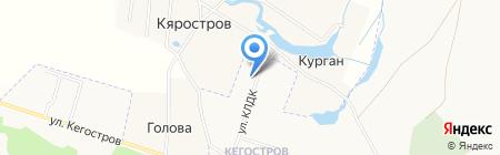 Детский сад №30 на карте Архангельска