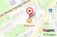 Схема проезда до компании Триэра во Владимире