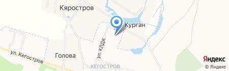 Средняя общеобразовательная школа №70 на карте Архангельска