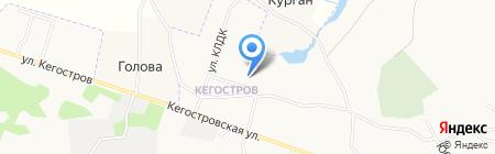 Почтовое отделение связи №17 на карте Архангельска