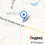 Петрович Север на карте Архангельска