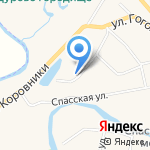 Поповых на карте Суздаля