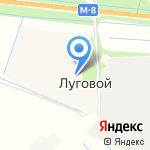 Архангельское на карте Архангельска
