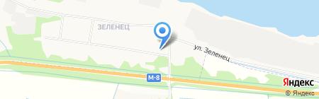 Почтовое отделение связи №32 на карте Архангельска