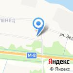 Почтовое отделение №32 на карте Архангельска