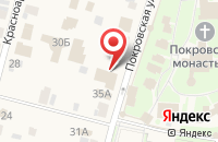 Схема проезда до компании ГОСТЕВОЙ ДОМ в Суздале