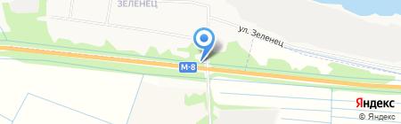 Навострой на карте Архангельска
