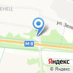 Новострой на карте Архангельска