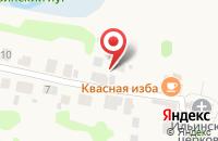 Схема проезда до компании На Ивановой горе в Суздале