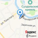 Дом крестьянина-середняка на карте Суздаля