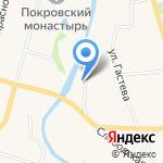 Medniy Dvor на карте Суздаля