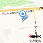 Средняя общеобразовательная школа №20 на карте Владимира