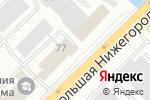 Схема проезда до компании Витур во Владимире