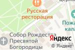 Схема проезда до компании Антикваръ у Кремля в Суздале