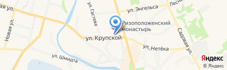 ДЮСШ на карте Суздаля