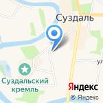 Пожарно-спасательная часть №26 на карте Суздаля