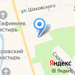 Art Hotel Николаевский посад на карте Суздаля