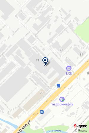 ДОПОЛНИТЕЛЬНЫЙ ОФИС № 2 ФИЛИАЛ ВЛАДИМИРСКИЙ АКБ МОСКОВСКИЙ ИНДУСТРИАЛЬНЫЙ БАНК на карте Владимира