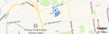 Алёнушкин теремок на карте Суздаля