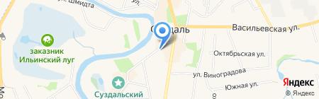 Центр дополнительного образования детей Суздальского района на карте Суздаля