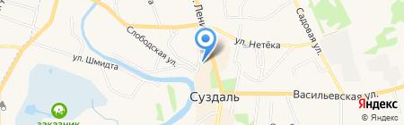 Суздальская межрайонная прокуратура Владимирской области на карте Суздаля