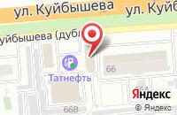 Схема проезда до компании Север во Владимире