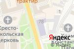 Схема проезда до компании Общественная приемная партии Единая Россия Суздальского района в Суздале