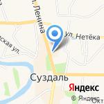 Октябрьский межрайонный следственный отдел на карте Суздаля